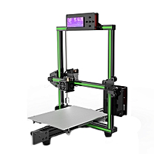 Anet® E2 DIY Aluminum Alloy Frame 3D Printer Kit 220*270*300mm Printing Size Support Soft Filament EU PLUG