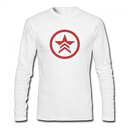 Buy Generic Mass Effect Renegade Symbol Mens Cotton Long Sleeve T