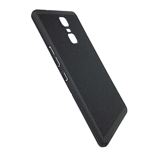 brand new 59a83 afad9 INFINIX Note 3 PRO Back Cover - Black With Permeate Finish