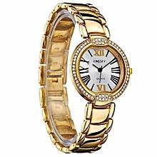 Gold Quartz Womens' Wrist Watch