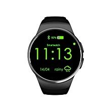 KW18 Bluetooth Smart Watch Connected WristWatch for Smartphones(Black)
