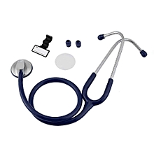 Portable Flat Head Stethoscope Medical Auscultation Device Tool Heath Care