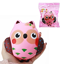 Squishy Owl Slow Rising Cute Soft Animals Collection Gift Decor Toy-