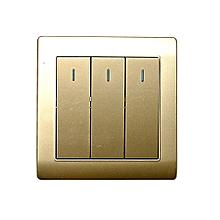 Wall Switch Panel Three Switch Two Way Control 250V 10A
