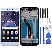 LCD Screen and Digitizer Fullembly with Frame for Huawei Honor 8 Lite(White)