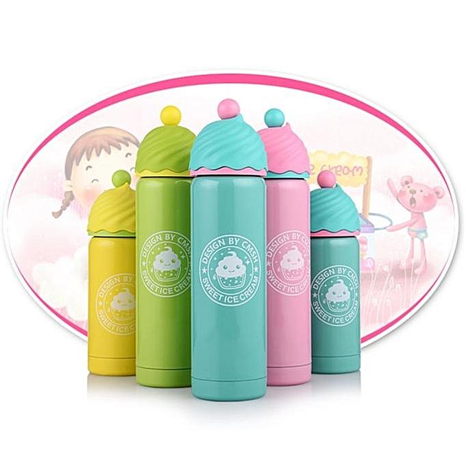 Water Bottle Kenya: Neworldline Strawberry Ice Cream Cute Water Bottle