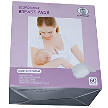 Disposable Breast Pads 60pieces-Mother care! Efficient & Comfortable.