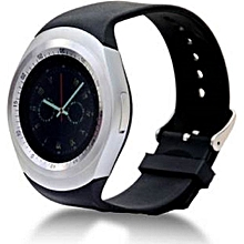 Y1 Smart Phone Watch -( MTK6261) - Bluetooth 3.0 280mAh - Black/silver
