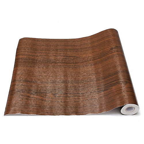 Buy Generic 3pcs Wall Wood Grain Mural Decal Self Adhesive Pvc