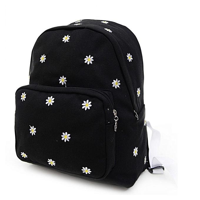 Eissely Women Teenage Girl Boy Solid Zipper Backpack School Bags Fashion  Shoulder Bag f4d1a02258c57