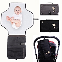 Washable Portable Baby Diaper Kids Pad Changing Mat Nappy Bag Storage Pocket Set