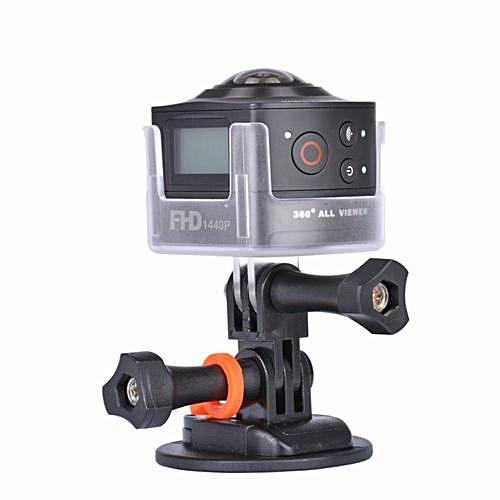 AMKOV AMK100S 360 Degree 8MP 1440P WiFi Action Camera