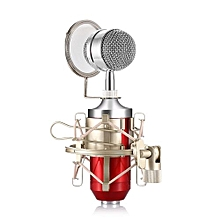 BM - 8000 Professional Condenser Microphone - Red