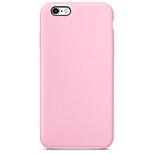 Fashion Ultra-thin Silicone Case Cover Skin For iPhone 6S/ 6 Plus 5.5inch Pink-Pink