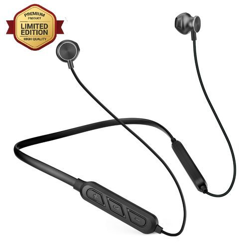 Bluetooth earphones Headphones Noice Cancellation Wireless black