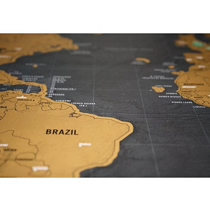 Buy louis will scratch off world map black deluxe travel map poster scratch off world map black deluxe travel map poster personalized journal gift gumiabroncs Images