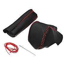 For Honda Civic 8th Generation AUTOMATIC Gear Shift Collar Knob & Handbrake Grip