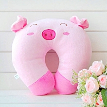 Car Headrest Neck Pillow Lovely Colour PP Cotton Cervical Health Pillow Travel Pillow U Shaped Pillow Cartoon Animal Sleep