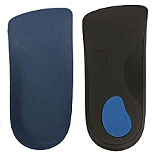 3/4 Orthotic Support Insole Shoe Pad Mat Arch Flat Feet Cushion Pronation Fallen