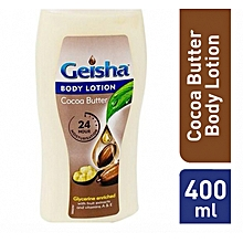 Cocoa Butter Lotion Grycerine Enriched - 400ml