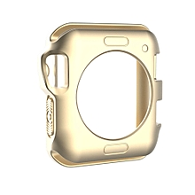 TPU Protective Case for Apple Watch Series 3 & 2 & 1 42mm(Gold)