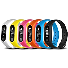 Waterproof Fitness Activity Tracker Smart Watch Intelligence Health Bracelet-Array - Black