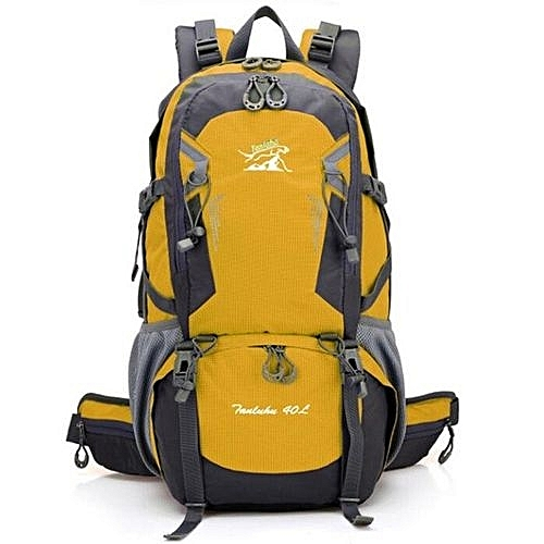 94caaa63dccc Hot Selling Lightweight Foldable Waterproof Nylon Women Men Casual Backpack  Travel Outdoor Sports Camping Hiking Bag(Yellow)