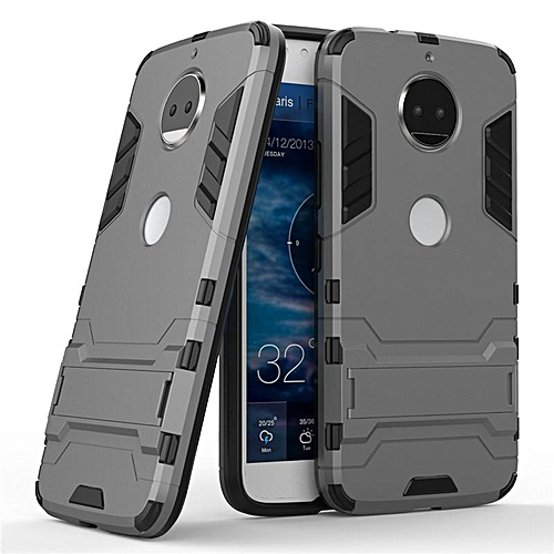 cheap for discount 9bfbe b0660 For Cover Moto G5S Plus Case TPU + Plastic Dual Layer Armor Case For Moto  G5S Plus Cover For Motorola Moto G5S Plus Funda (Grey)