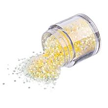 10g/Box Gold Sliver Nail Glitter Powder Shinning Nail Mirror Powder-Yellow