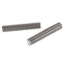 MK8 2pcs Stainless Steel Nozzle Teflon Pipes For MakerBot 3D Printer Accessories-Silver Grey