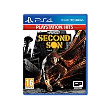 PS4 Game Infamous Second Son Playstation Hits