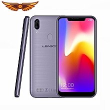 "LEAGOO M11 4G Face ID Smartphone 6.18"" U-shape Dual SIM Android 8.1 Quad Core 2GB+16GB 4000mAh Fingerprint Mobile Phone - Grey"