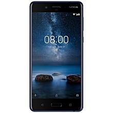8 5.3-Inch (4GB,64GB ROM) Dual 13MP + 13MP, Android 7.1 Nougat Dual SIM 4G Smartphone - Blue