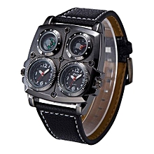 Watches, Men Watches, Fashion Hiking Sports Luxury Leather Strap Military Army Casual Clock Watch