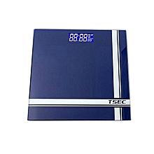 Dark Blue Digital Bathroom Weighing Scale