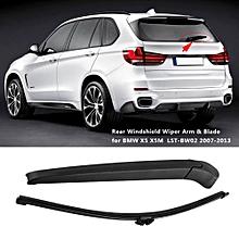 Car Auto Rear Windscreen Windshield Wiper Arm & Blade for BMW X5 X5M LST-BW02 2007-2013
