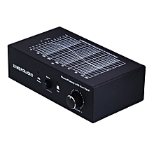 B855 LINEPAUDIO Phone Prephonograph Signal Amplifier with Auxiliary Input and Volume Control (Black)