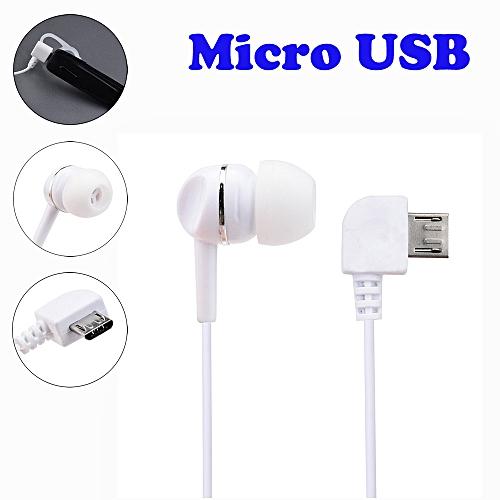 Hiamok_Universal Micro USB Mono Single Stereo Earphone for Bluetooth Headphone