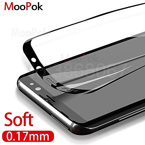 3D Curved Soft Screen Protector For Samsung Galaxy S8 S9 Plus Note8 S7Edge  0 27mm Protective film Not Tempered Glass Film(Color Gold)