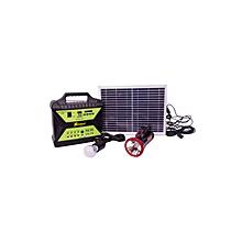 AF1207 - Solar Generator- Green & Black