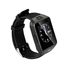 Smart Watches DZ09 SIM/TF Bluetooth Sport Pedometer WristWatch Smart Watch For Apple/Android - Black