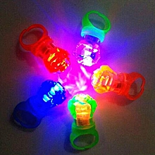 New Hot Sale Popular Rose Light Ring Lamp Ring Lamp Children Flash Ring Light Glowing Toys