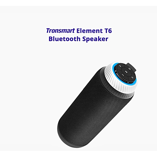 Tronsmart Element T6 25W Portable Bluetooth Speaker with Enhanced Bass and Built-in Microphone QTG-W