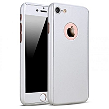 IPhone 7 Plus 360° Full Protective Case - Silver