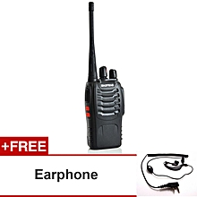 Baofeng BF-888S-1-EF Walkie Talkie + Earphone