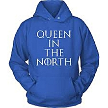 Queen in the North Hoodie-  Royal Blue