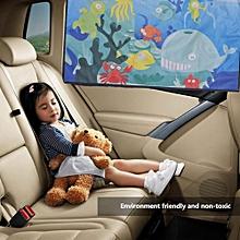 Cartoon Magnetic Car Curtain Adjustable Sun Shade For Baby Children