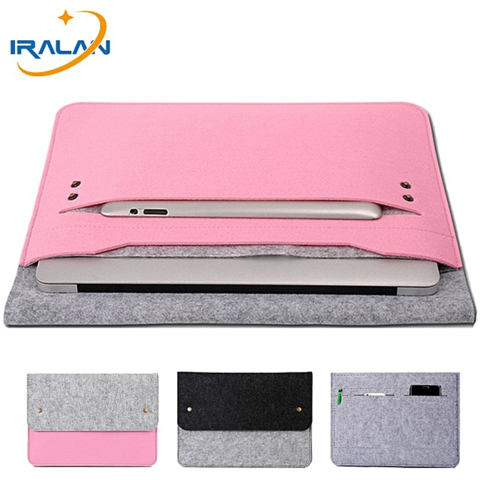 cb0d2a547967 Felt Ultra Slim Unisex Laptop Liner Sleeve Pouch Case For Macbook Air Pro  Retina 11 12 13 14 15 For Xiaomi Lenovo Notebook Bag( New pro 15 ...