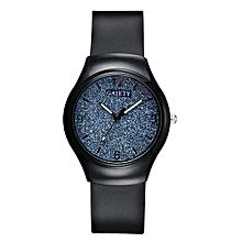 GAIETY G465 Black Belt Wrist Watch