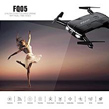FQ05 2.4G 4CH 2.0MP HD Camera WiFi FPV RC Foldable Quadcopter Selfie Drone RTF